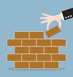 First brick vector
