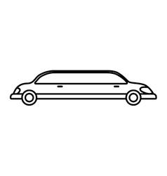 Limousine icon transportation design vector
