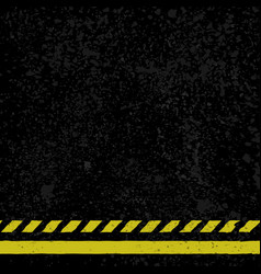 Asphalt with yellow lines vector