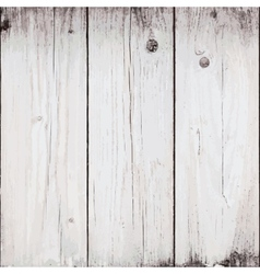 Bleached Planks Background vector image