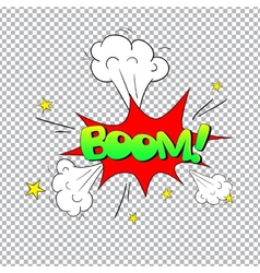 Comic bubbles isolated vector