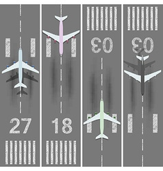 Runways vector