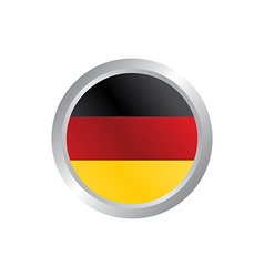 Glossy theme germany national flag vector