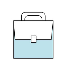 Business briefcase isolated vector