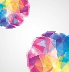 colorful diamond vector image
