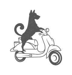 Funny dog vector