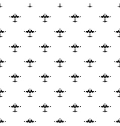 Military fighter aircraft pattern simple style vector