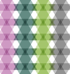 Abstract triangles seamless pattern vector image vector image