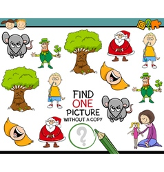 preschool task for children vector image