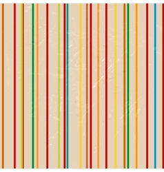 Striped grunge background vector image