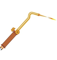 Gas welding torch vector