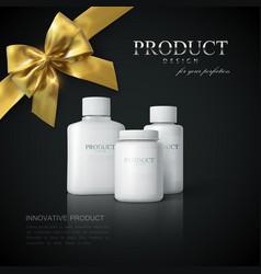 Medicine package design vector