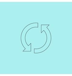 Refresh reload rotation loop sign vector