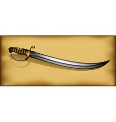 Ancient saber vector