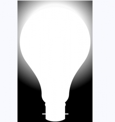 bulb vector image vector image