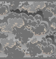 Cloud in the sky seamless pattern air nature vector