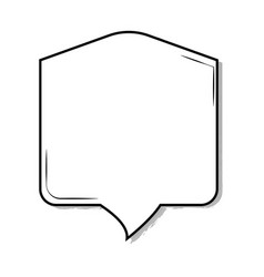 Pop art textbox vector