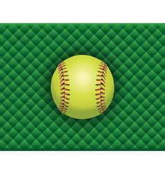Softball checkered background vector