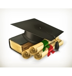 Education and Training icon vector image