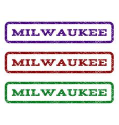 Milwaukee watermark stamp vector