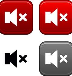 Mute button vector