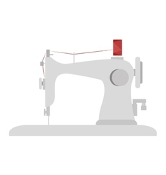 Sewing machine design vector
