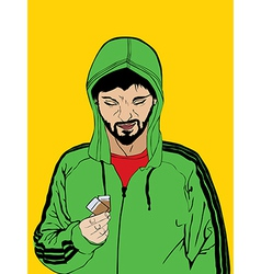 Drug dealer vector