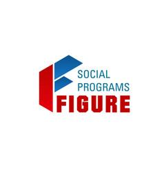 Logo for social prograams vector
