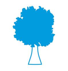 tree nature symbol vector image