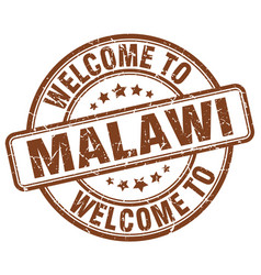 Welcome to malawi vector