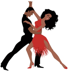 Latin dance vector