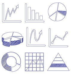 Different graphs vector