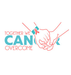 banner world cancer day vector image vector image