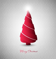 Christmas Design Tree vector image vector image
