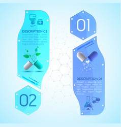 medication vertical banners set vector image vector image