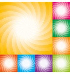 star burst backgrounds vector image