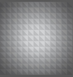 silver triangle background vector image