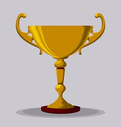 Trophy design vector