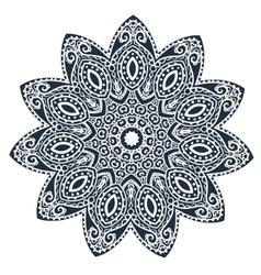 Ornament beautiful card vector image