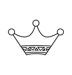 Crown icon vip and luxury design graphic vector