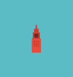 flat icon kremlin element of vector image vector image