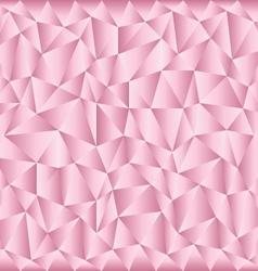 Triangular pink background vector