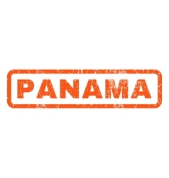 Panama rubber stamp vector