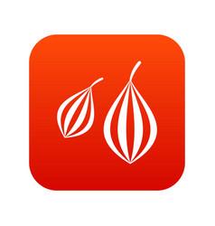 Trachyspermum ammi icon digital red vector