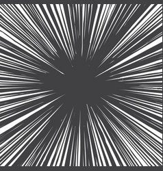 Grunge radial lines texture vector