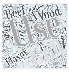 Picking the right grillwps word cloud concept vector
