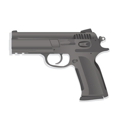Handgun collection vector image