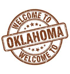 Welcome to oklahoma vector