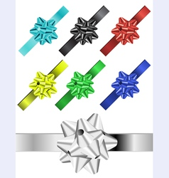 ribbon vector image