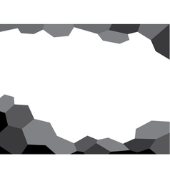 Abstract background black vector